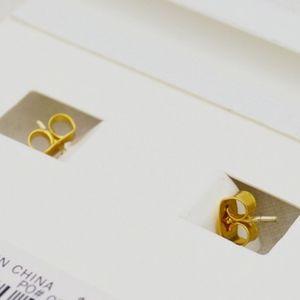 Madewell Jewelry - Madewell Oversized Gold Hoop Earrings